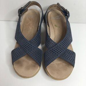 Dansko Sandals Flip Flops Slingback Open Toe Women